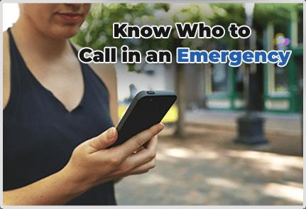Call In An Emergency