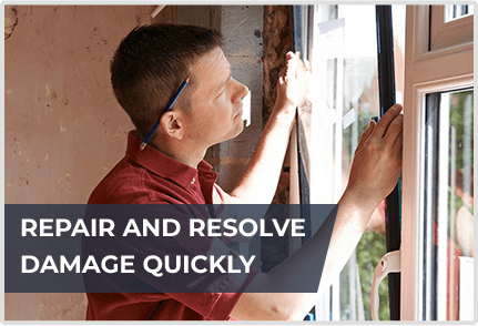 Repair And Resolve Damage Quickly