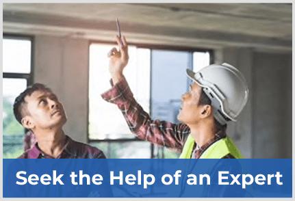 Seek The Help Of An Expert